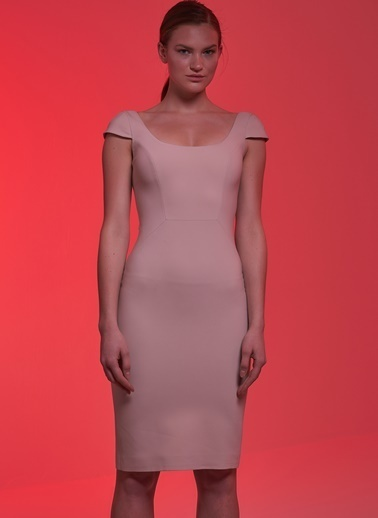 Museum Of Fine Clothing Elbise Pembe